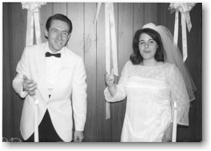 Rick and Barbara's Wedding Picture