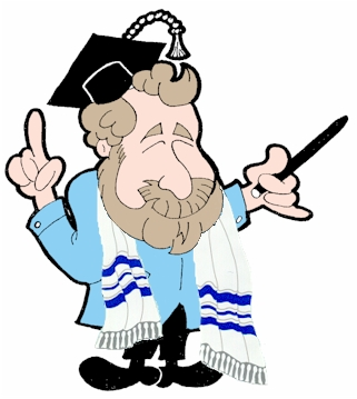 Rav Ari Caricature Teaching